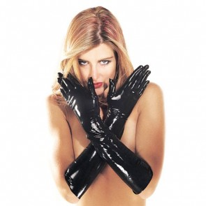 Sharon Sloane Latex Gauntlets