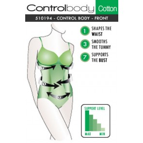 Control Body Cotton Body - Firm Support
