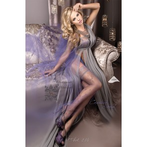 Ballerina 234 Hold Up Stockings Fumo (Smoke)