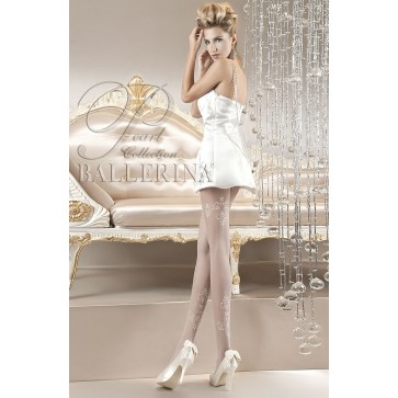 Ballerina 118 Tights Bianco (White)
