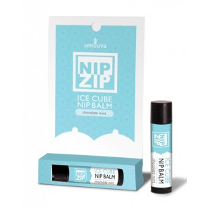 Sensuva Nip Zip Ice Cube Nip Balm - Chocolate Mint