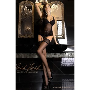 Ballerina 800 Hold Up Stockings Pherom