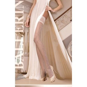 Ballerina 254 Hold Up Stockings Avorio (Ivory)