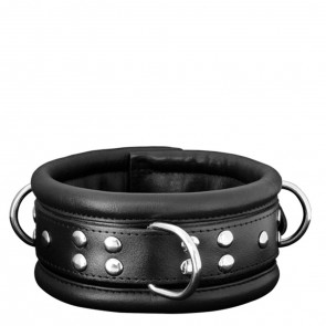 Kiotos Leather Collar - 6.5cm