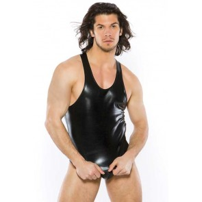 Zeus Wet-Look Tank Top