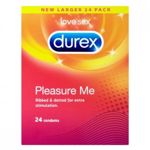 Durex Pleasure Me Condoms - 24 Pack