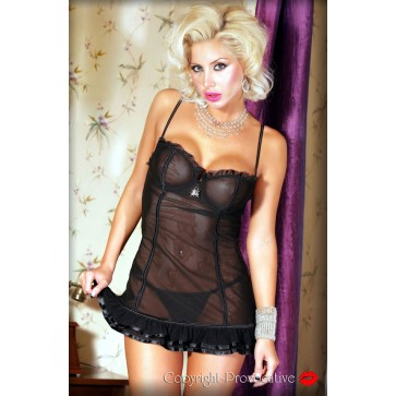 Provocative Soiree Intime Chemise