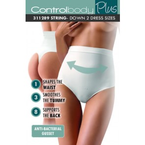 Control Body Plus High Waist Thong - Firm Support