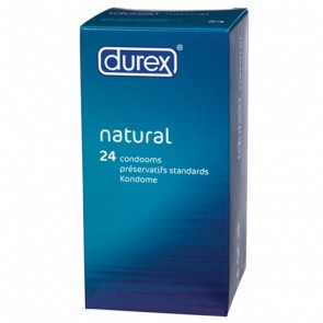 Durex Natural Condoms - 20 Pack