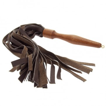 House of Eros Medium Weight Flogger - Black