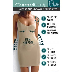 Control Body Plus Shaping Slip - Firm Support
