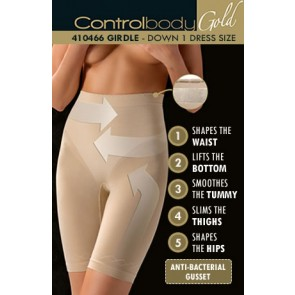 Control Body Gold Shaping Girdle - Firm Support