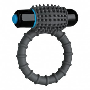 OptiMALE Silicone Vibrating Waterproof Cock Ring