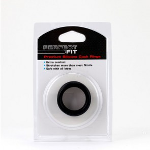 Perfect Fit Silicone 3 Ring Kit Medium - Black