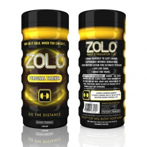 Zolo Personal Trainer Male Masturbator Yellow