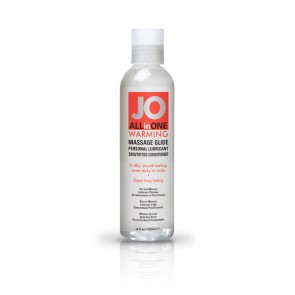 JO All-in-One Massage Glide 120ml - Warming