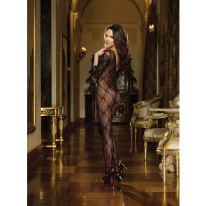Dreamgirl Bordeaux Bodystocking
