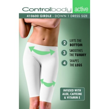 Control Body Active Short Leggings With Aloe - Medium Support