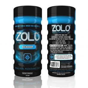 Zolo Backdoor Male Masturbator Blue