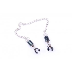 Kiotos Nipple Clamps With Strong Chain