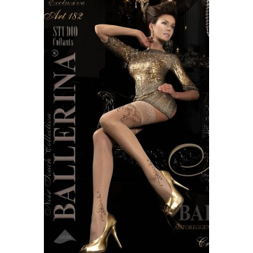 Ballerina 182 Hold Up Stockings Beige