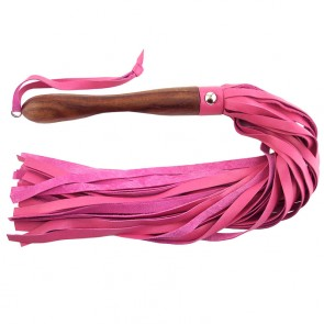 Rouge Garments Wooden Handled Leather Flogger