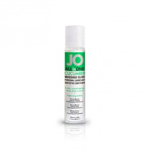 JO All-in-One Massage Glide 30ml - Cucumber