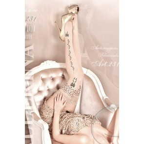 Ballerina 231 Hold Up Stockings Skin