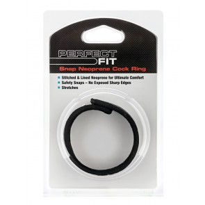 Perfect Fit Neoprene Snap Cock Ring