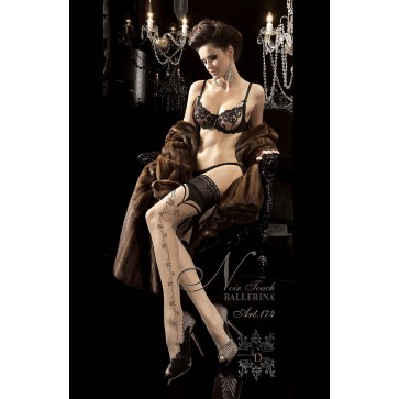 Ballerina 174 Hold Up Stockings Beige