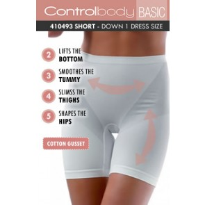 Control Body Basic Shaping Short - Medium Support