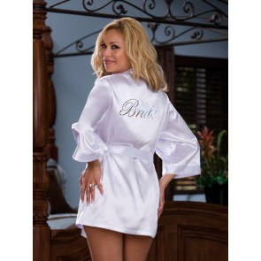 Dreamgirl Yours Truly Plus Size Robe & Babydoll Set