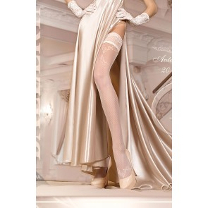 Ballerina 249 Hold Up Stockings Avorio (Ivory)