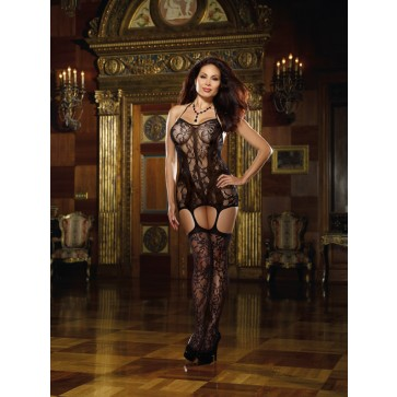 Dreamgirl Trinidad Plus Size Garter Dress