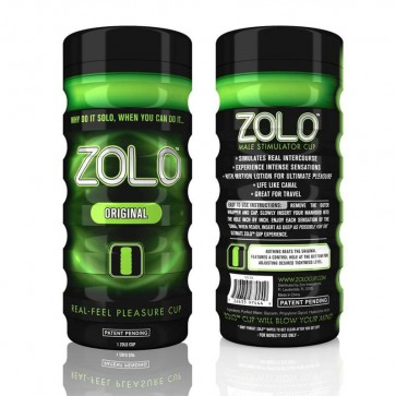Zolo Original Male Masturbator Green