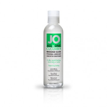 JO All-in-One Massage Glide 120ml - Cucumber