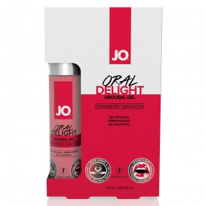 JO Oral Delight - Strawberry Sensation