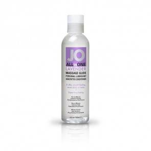 JO All-in-One Massage Glide 120ml - Lavender
