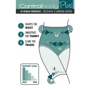 Control Body Plus High Waist Girdle - Firm Support